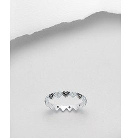 Sterling Sterling Ring- Hearts