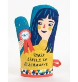Blue Q Oven Mitt- Likely to Microwave