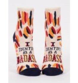Blue Q Ladies Ankle Socks- Badass