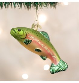 Old World Christmas Trout Ornament