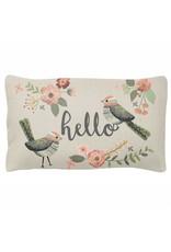 Karma Lumbar Pillow- Bird