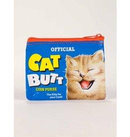 Blue Q Coin Purse-Cat Butt