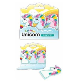 Streamline Rainbow Unicorn Erasers