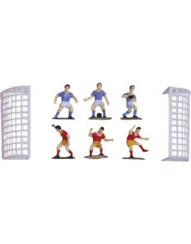 PFEIL & HOLING SOCCER SET W/ GOALS BOX 12 CT