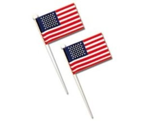 Ct Pick 3 >> U S Flags White Pick 3 1 2 Box 144 Ct