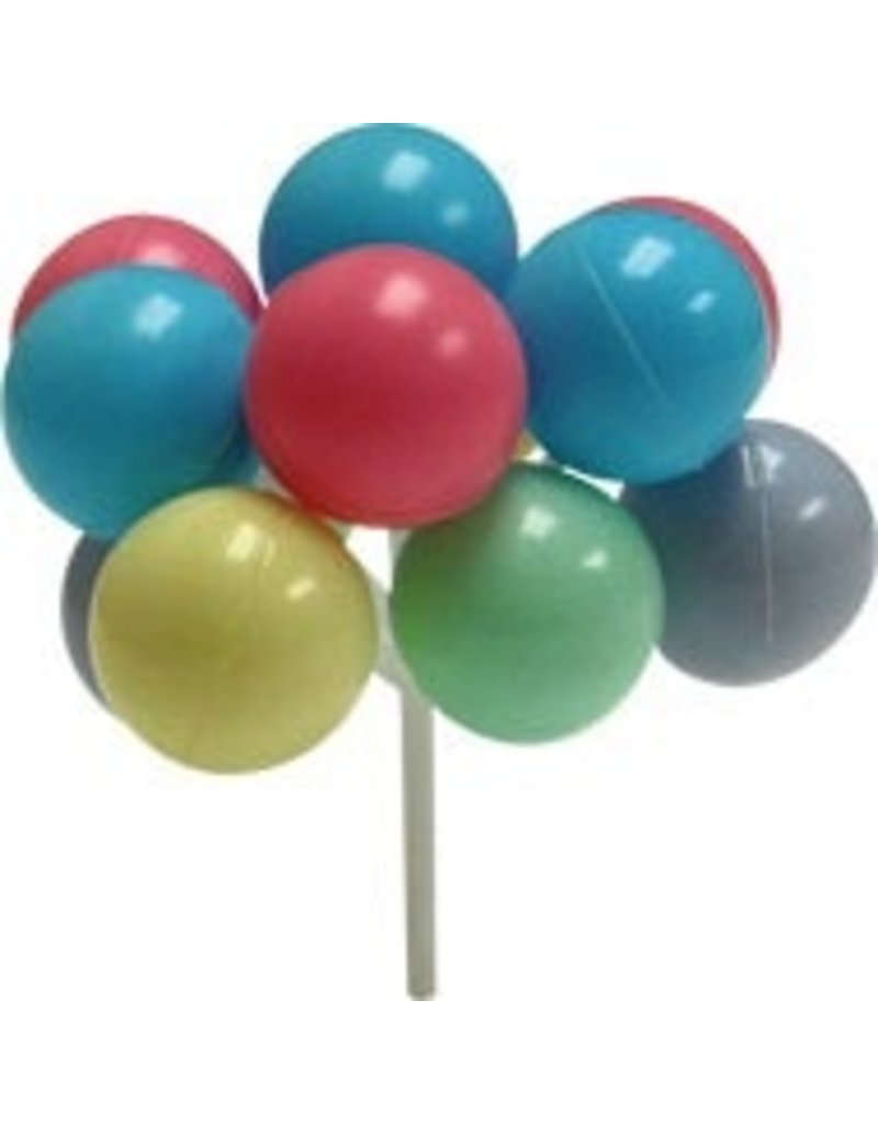 PFEIL & HOLING PASTEL BALLOON CLUSTERS 7'' BOX 36 CT