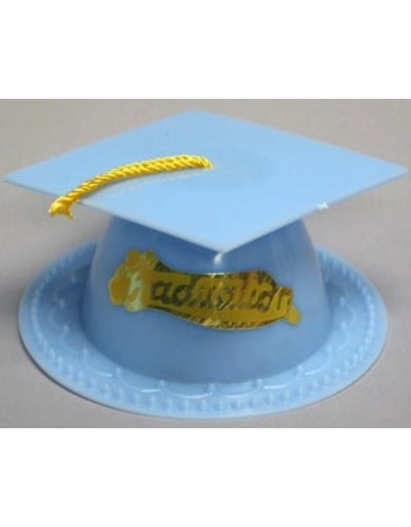 PFEIL & HOLING LIGHT BLUE GRADUATION CAP 3 1/2'' BOX 24 CT