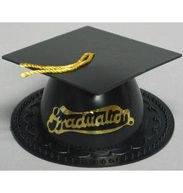 PFEIL & HOLING BLACK GRADUATION CAP 3 1/2'' BOX 24 CT