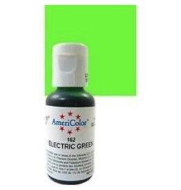 ATECO AMERICOLOR ELECTRIC GREEN GEL PASTE .75 OZ