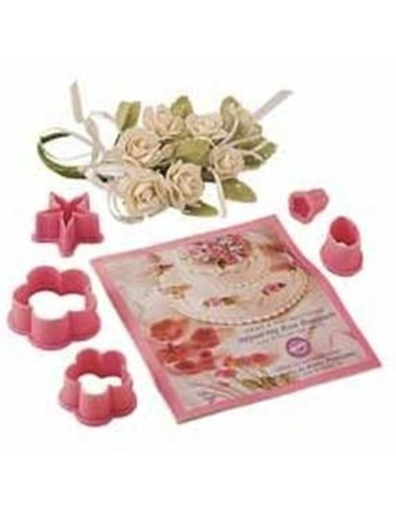 WILTON ENTERPRISES ROSE BOUQUET CUTTER SET