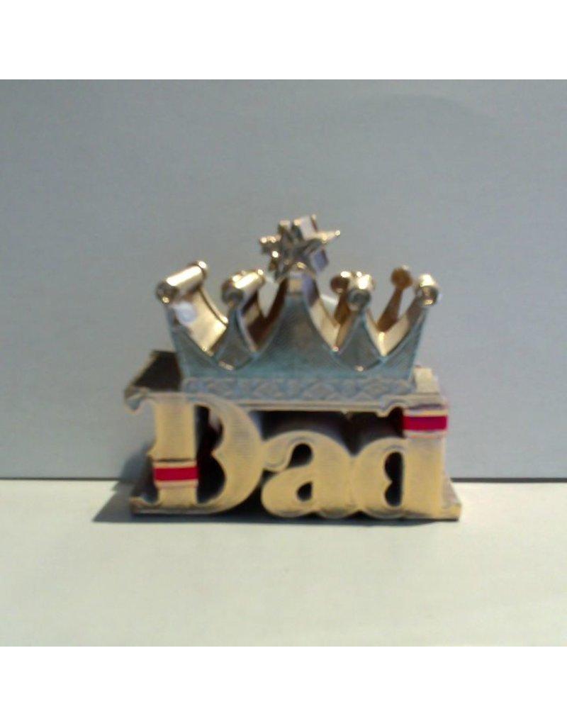 PFEIL & HOLING DAD W/ CROWN FOIL SCRIPT 2 1/4'' BOX 100 CT