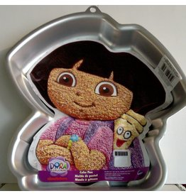 WILTON ENTERPRISES DORA W/ BACKPACK CAKE PAN