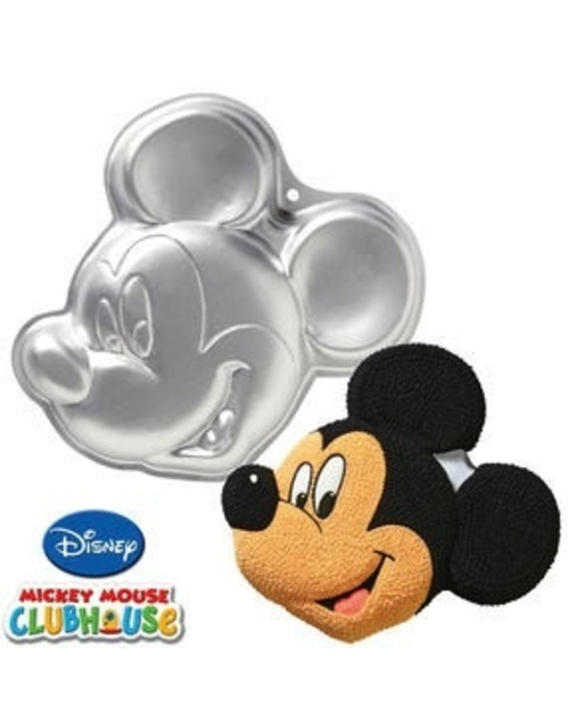 WILTON ENTERPRISES MICKEY MOUSE FACE PAN