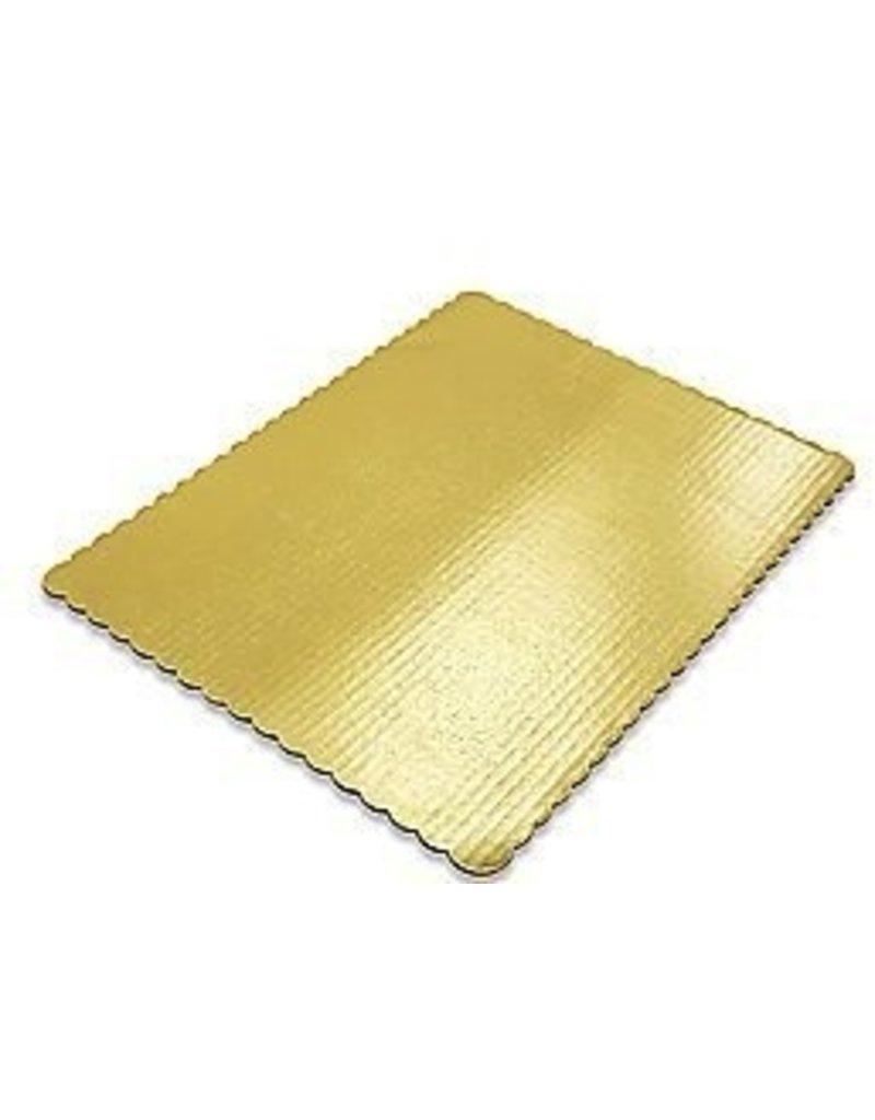 PACKAGING & MORE QTR SHEET 14 X 10'' GOLD BOARD EA