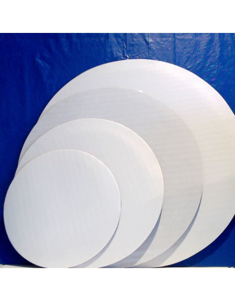 PACKAGING & MORE 14'' WHITE CIRCLE EA