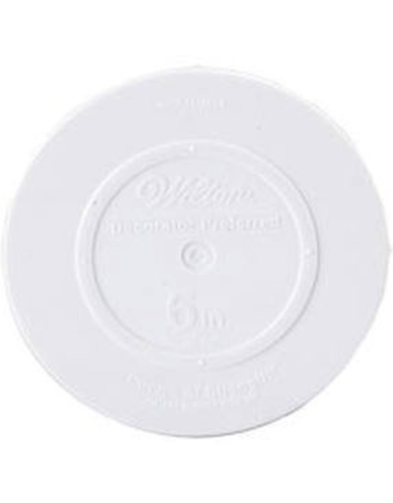 WILTON ENTERPRISES 12'' RND DECO PREF SMOOTH PLATE EA