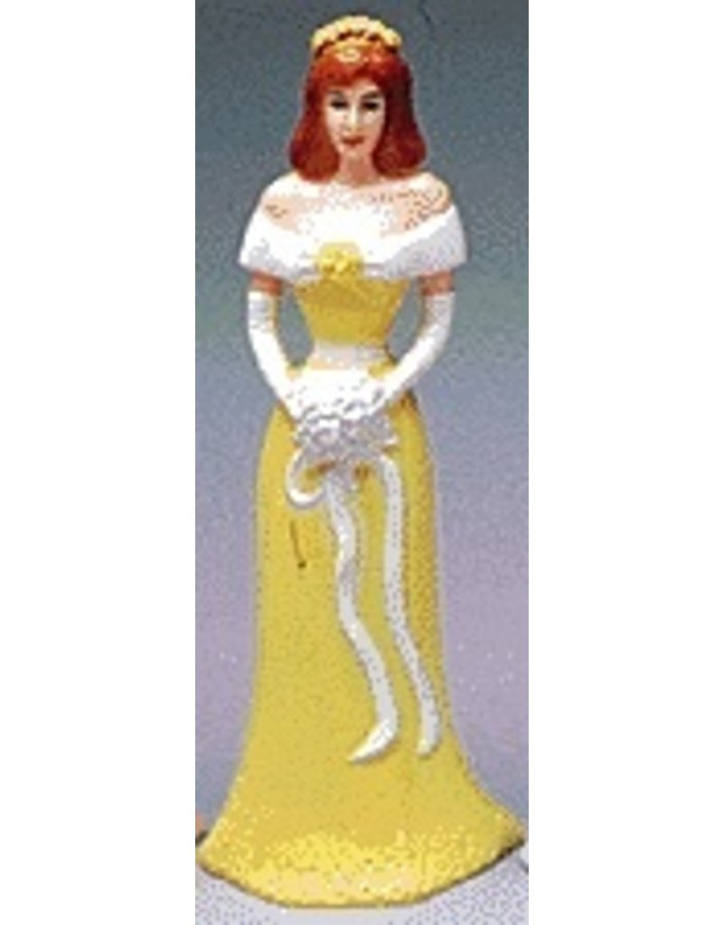 PFEIL & HOLING BRIDESMAID 4 1/2'' YELLOW BOX 12 CT