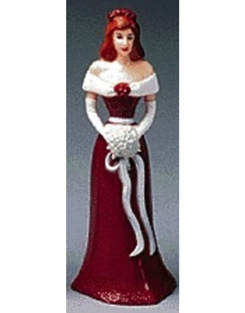 PFEIL & HOLING BRIDESMAID 4 1/2'' BURGUNDY BOX 12 CT