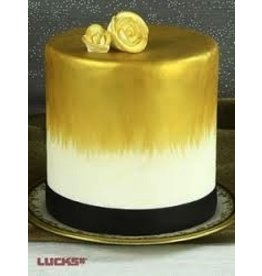 LUCKS FOOD DECORATING GOLD SHIMMER AIRBRUSH COLOR 4 OZ LUCKS J.A.R.