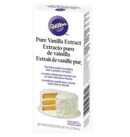 WILTON ENTERPRISES PURE VANILLA EXTRACT 4 OZ