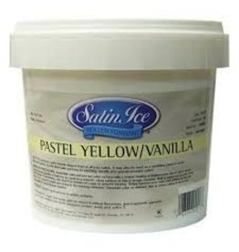 SATIN FINE FOODS PASTEL YELLOW SATIN ICE 2 LB