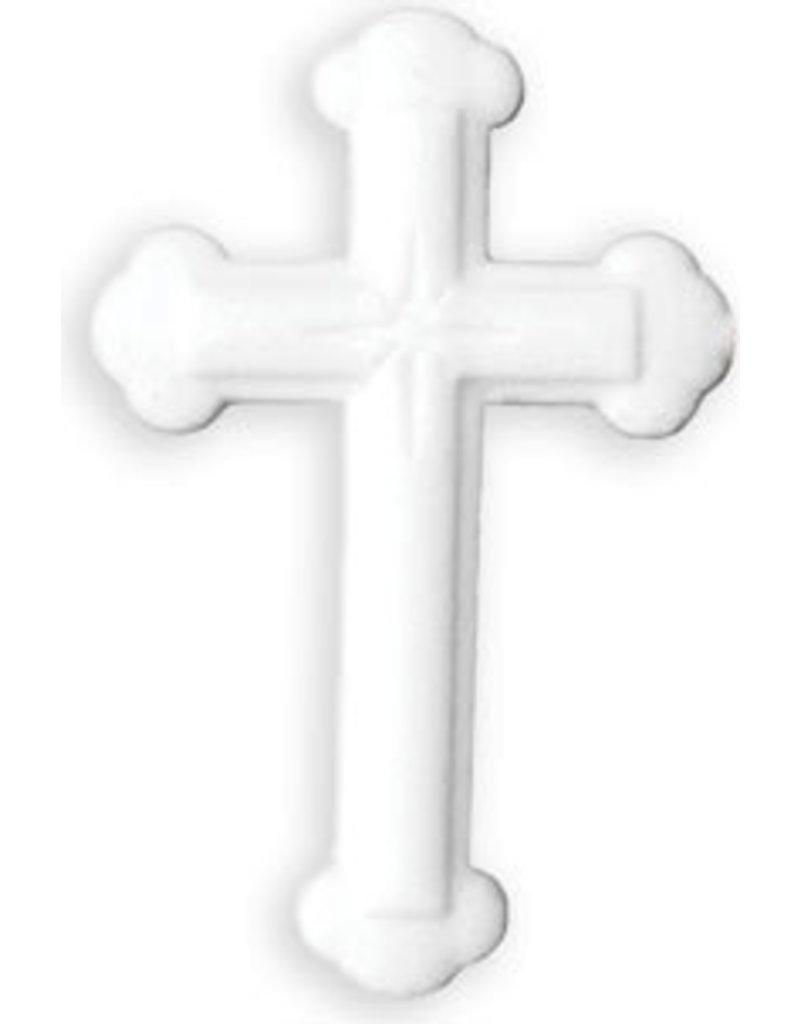 PFEIL & HOLING LG ORNATE WHITE CROSS SUGAR 4 1/2'' BOX 16 CT P&H