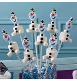 WILTON ENTERPRISES DISNEY FROZEN ICING DECORATION PKG 12 CT