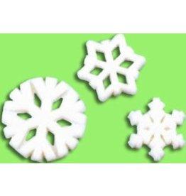 PFEIL & HOLING SNOWFLAKE SUGAR ASST 3/4'' - 1 1/4'' BOX 138 CT P&H