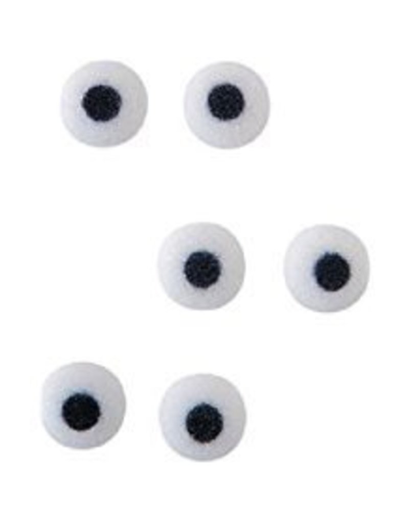 PFEIL & HOLING EYES - EXTRA LARGE WHITE ONLY 5/8'' BOX 1000 CT