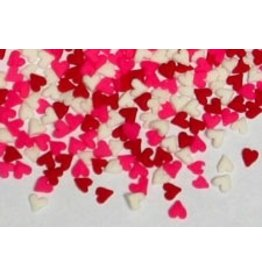 PFEIL & HOLING MINI HEART QUINS- RED/WHITE/PINK BOX 5 LB