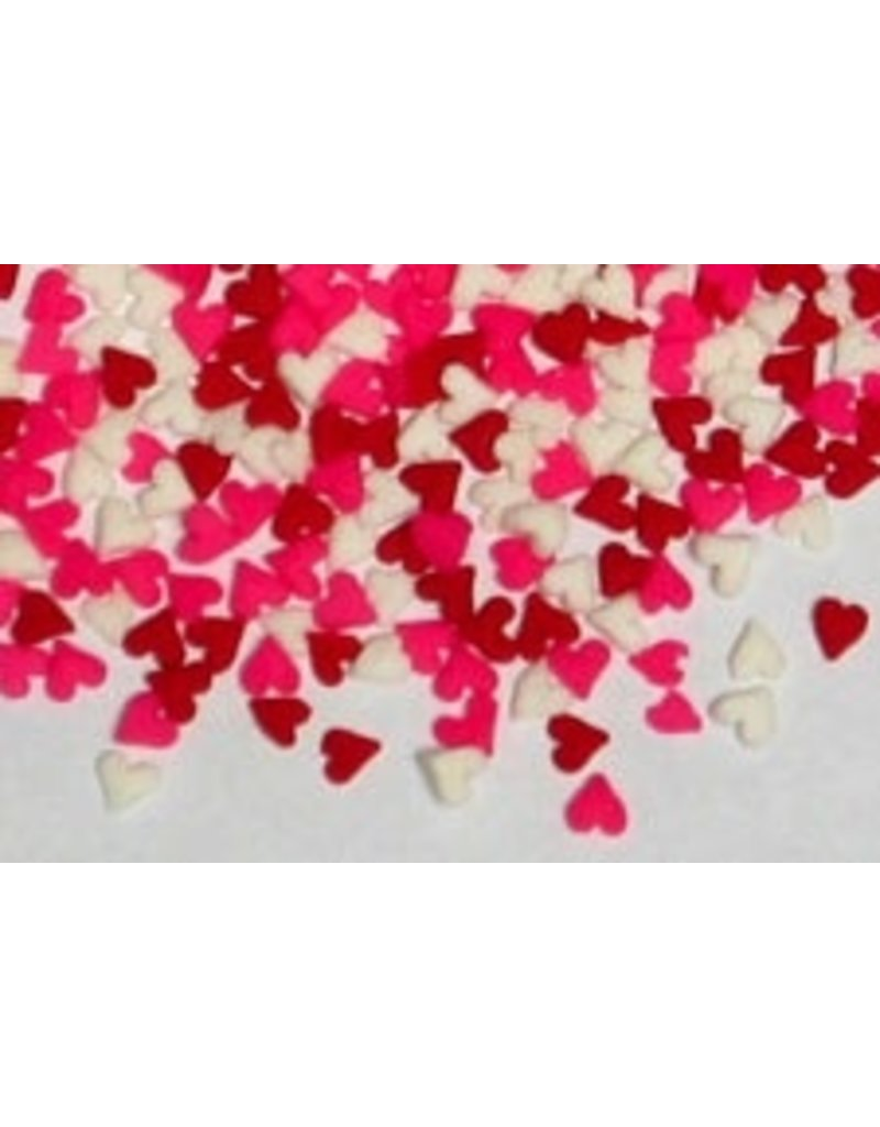 PFEIL & HOLING MINI HEART QUINS- RED/WHITE/PINK BOX 5 LB