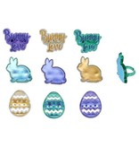 "DECOPAC RINGS- EASTER LOVE 1 1/2"" PKG 144 CT"