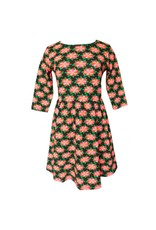 Ann Loren Poinsetta Swing Dress - Womens