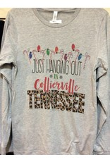 Diamond Diva Designz Hanging out in Collierville L/S T shirt