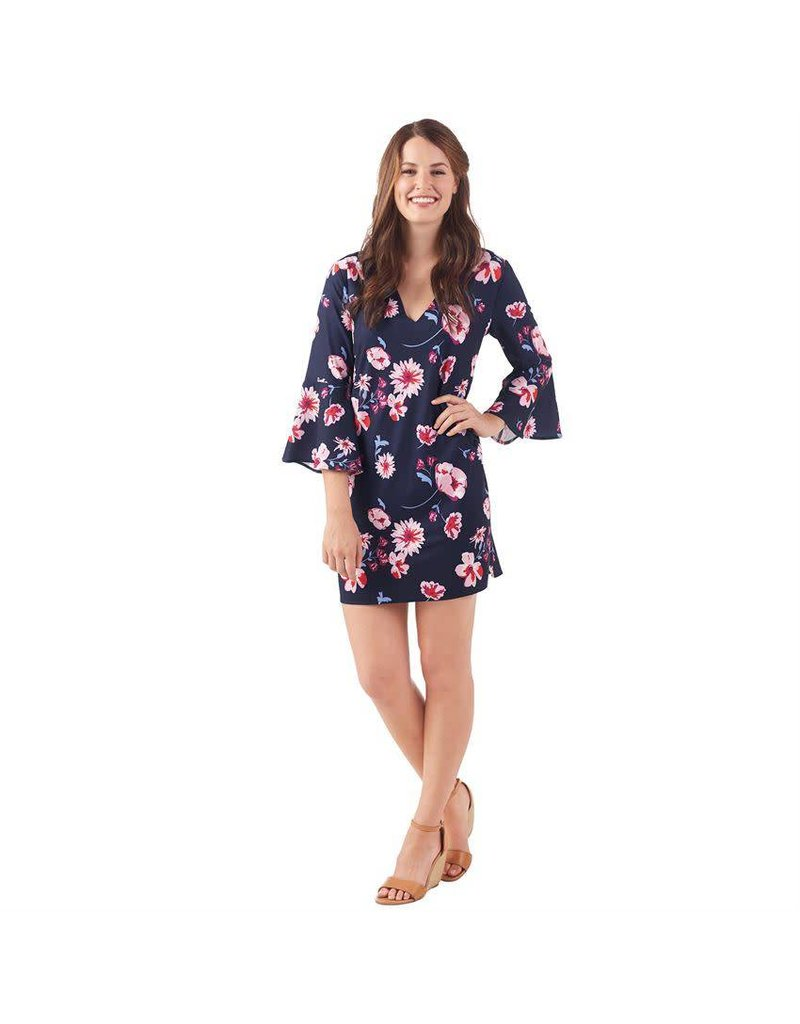 Mud Pie Mila bell sleeve dress