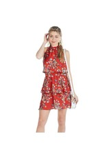 Mud Pie Pacey Flounce Dress