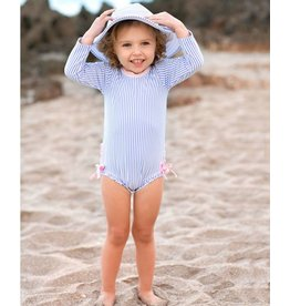 Ruffle Butts One Piece Rash Guard