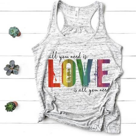 MidWest Tees All You Need is Love tank
