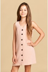 For All Seasons Front Button Dress