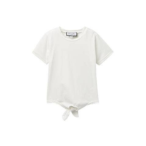 Young and Free Apparel White Tie Tee