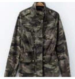 trend:notes Camo Jacket L/S w/pocket