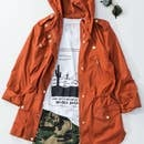 trend:notes Anorak Hooded Parka w/pockets