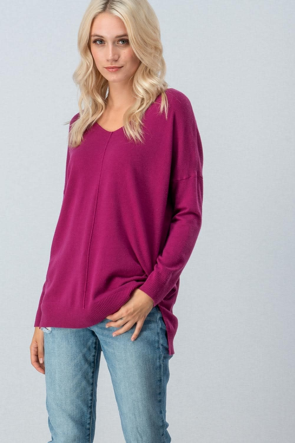 trend:notes Hi-Lo Tunic Sweater