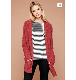 Hayden Los Angeles Textured Dolman Sweater Cardigan