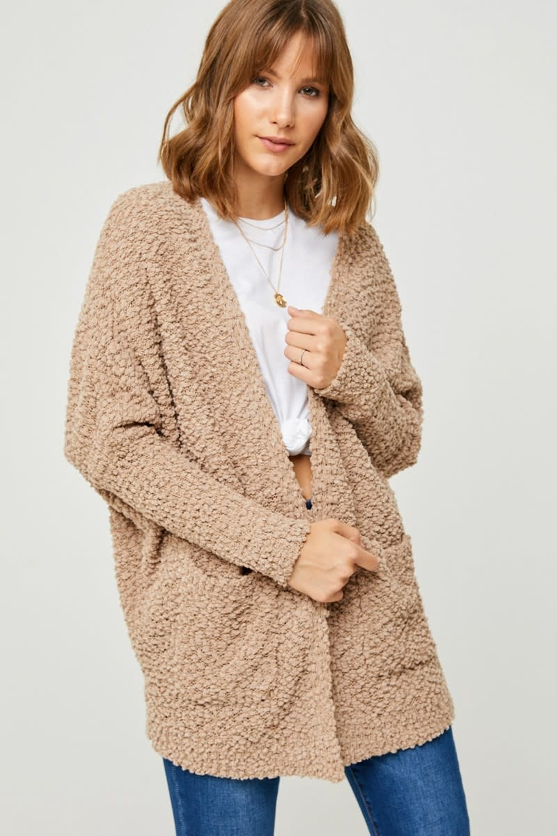 Hayden Los Angeles Textured Dolman Sweater Cardigan
