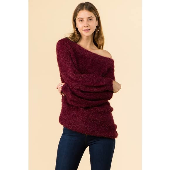 WINSLOW COLLECTION COZY EYELASH SWEATER TUNIC