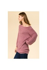 COZY EYELASH SWEATER TUNIC