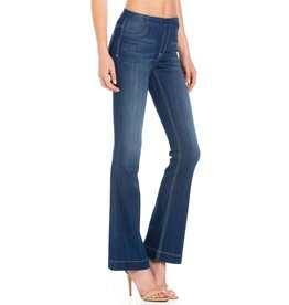 CELLO JEANS MID RISE FLARE JEGGING