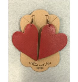 Graceful Designs Graceful Design Heart Earrings