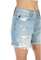 Kan Can Hazel High Rise Denim Shorts